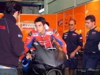 Pedrosa on a four stroke