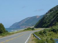 The coast of Cape Breton