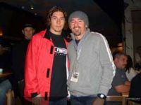 Hayden and Biaggi at Anaheim
