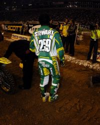 Bubba Stewart and Ricky Carmichael