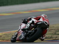 Regis Laconi on the Duc 999
