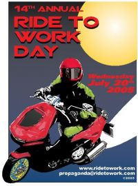 Ride to Work poster