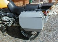 Jesse Odyssey bags for the R1150GS