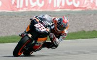 Nicky Hayden at the Sachsenring