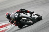 Kenny Roberts Jr testing at Sepang